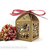 Vintage Bunting personalised favour boxes