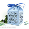 Winter Snowflake Extra Large Favour Box | Cupcake Box