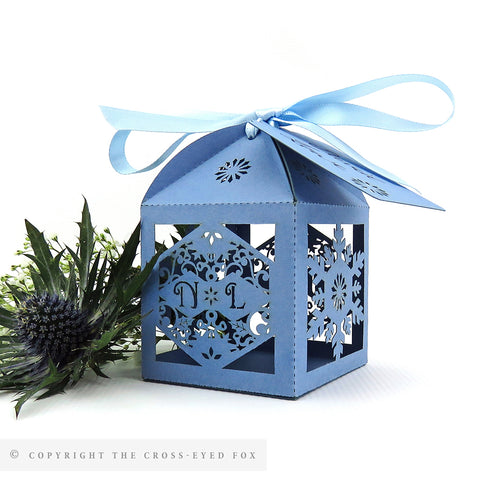Simply Snowflakes Personalised Favour Boxes