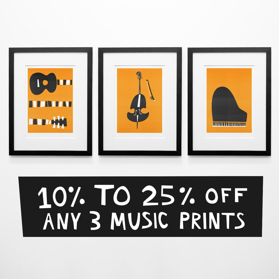 Fox And Velvet set of three discount offer any three prints 10% to 25% off