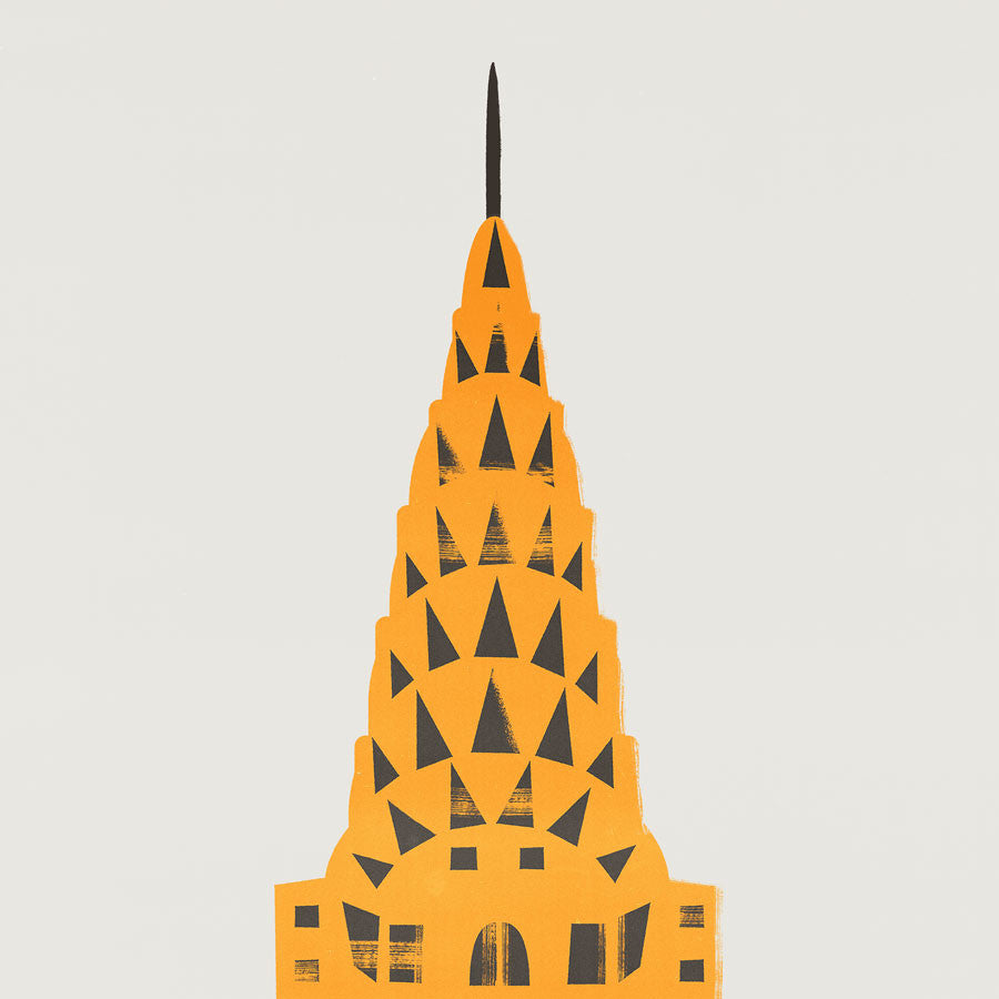 New York Chrysler Building Print