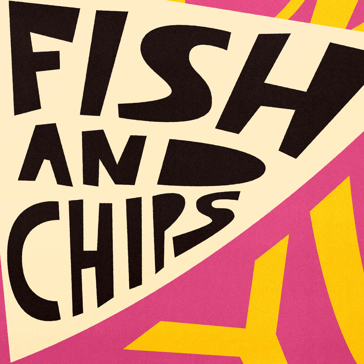 Yum Fish & Chips Print