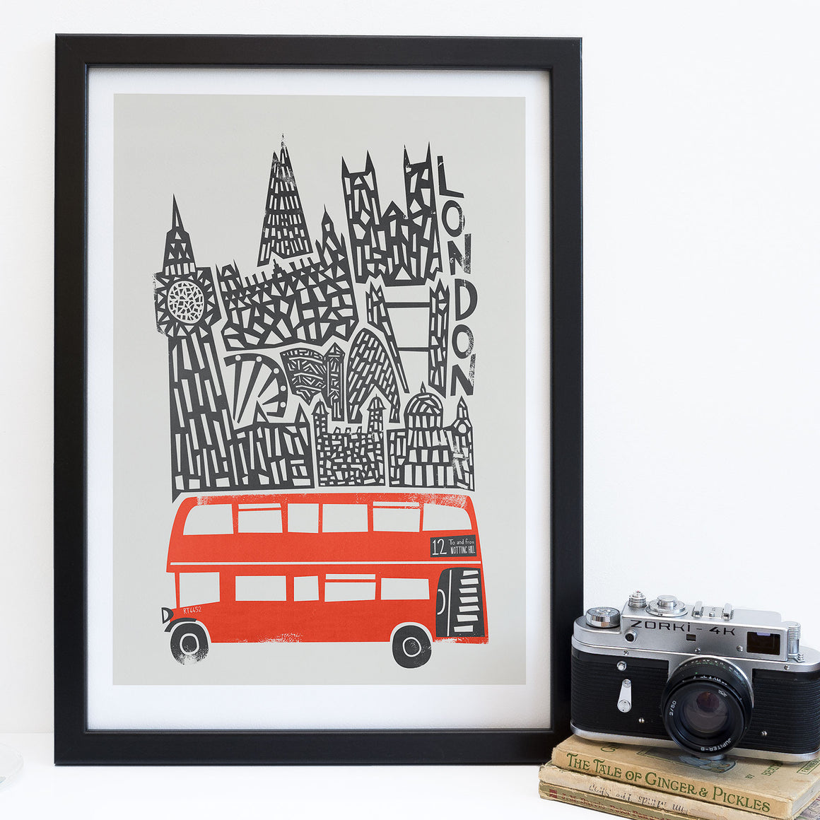 Set of 3 London Prints