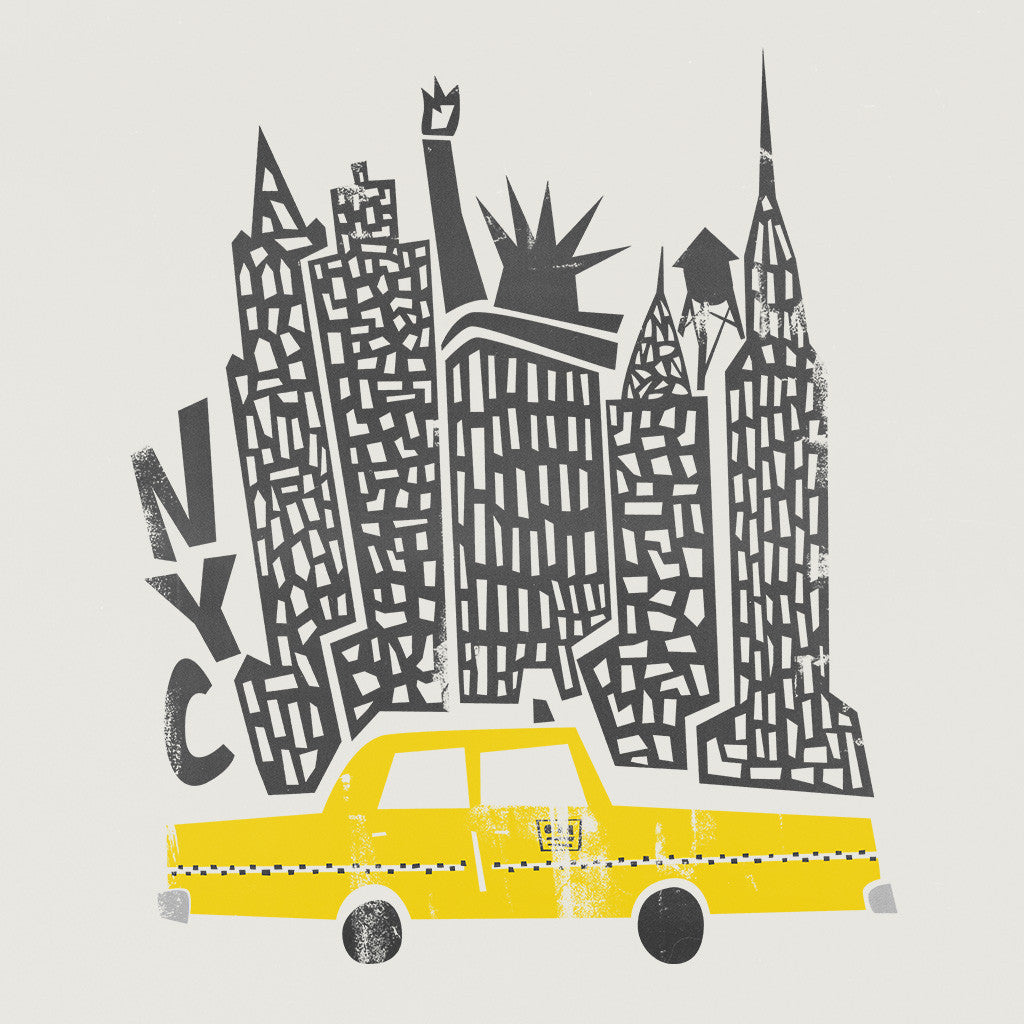 New York Mid Century Illustration