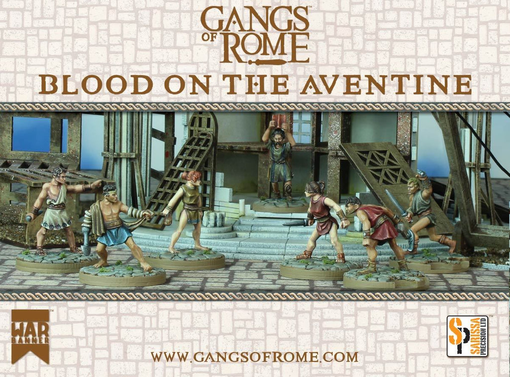 Blood on the Aventine Cover