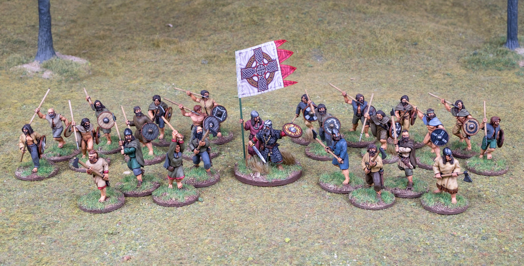 Footsore Miniatures' Irish Skirmish Warband