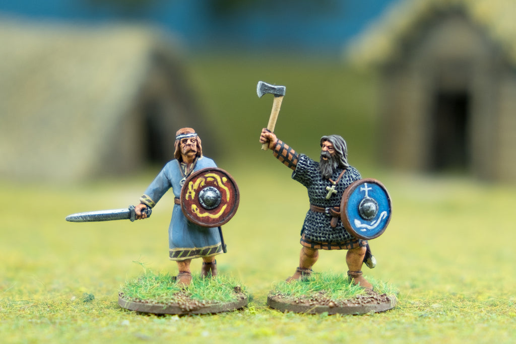 Footsore Miniatures' Irish Heroes