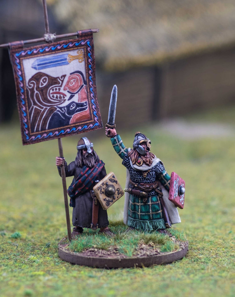 Footsore Miniatures Pict Warlord