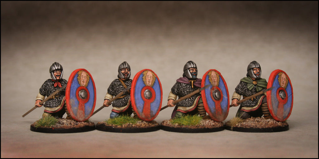Late Roman Armoured Infantry Kneeling