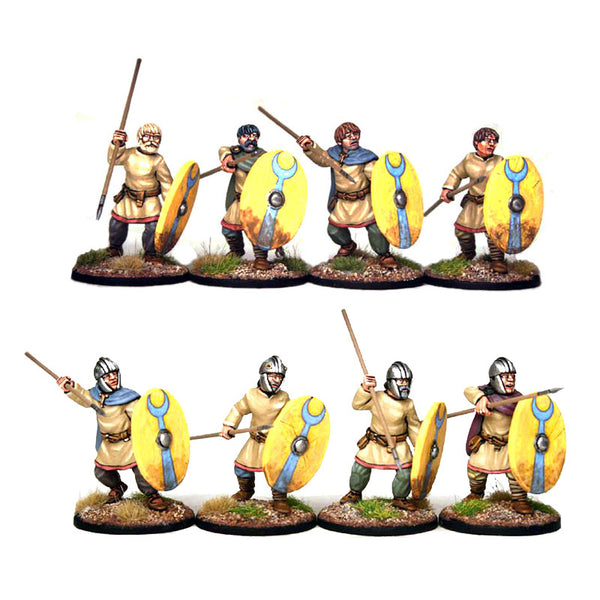 Late Roman Unarmoured Infantry - 1 point