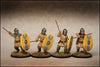 Late Roman Unarmoured Infantry in Helmets