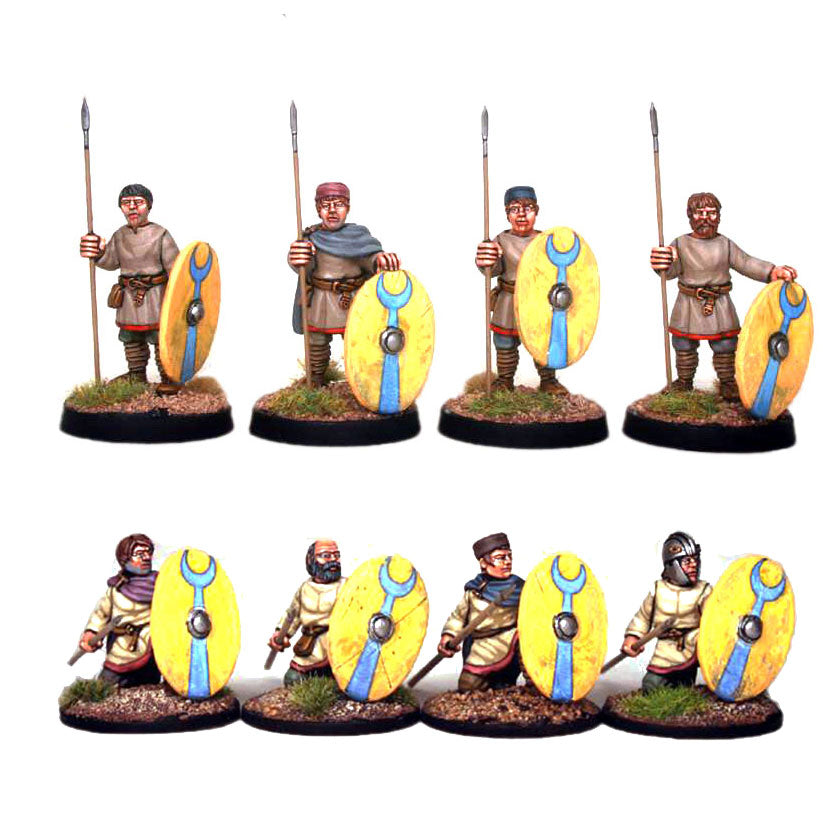 Late Roman Unarmoured Infantry battle line - 1 point