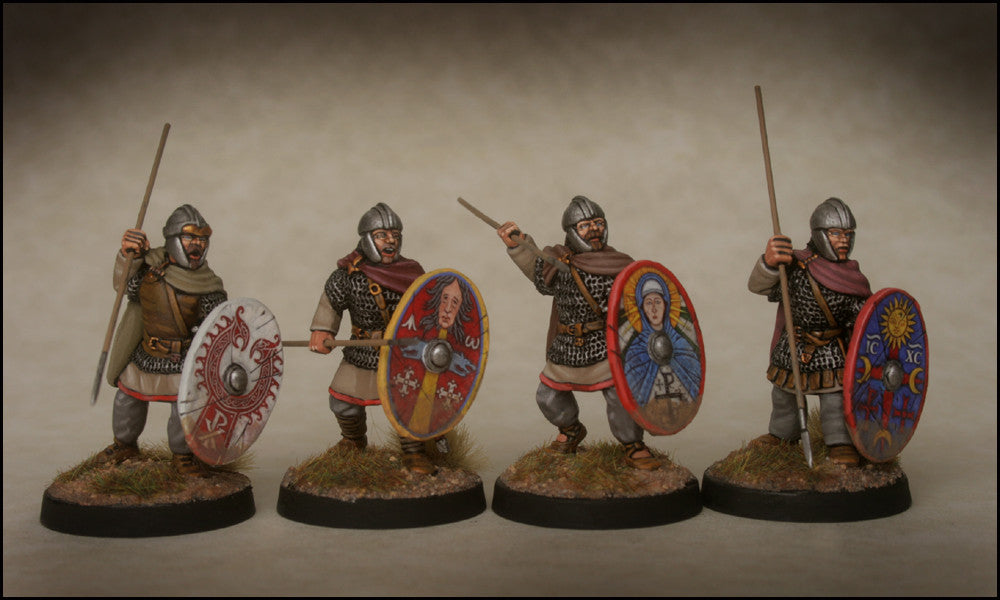 Late Roman Armoured Infantry in Cloaks