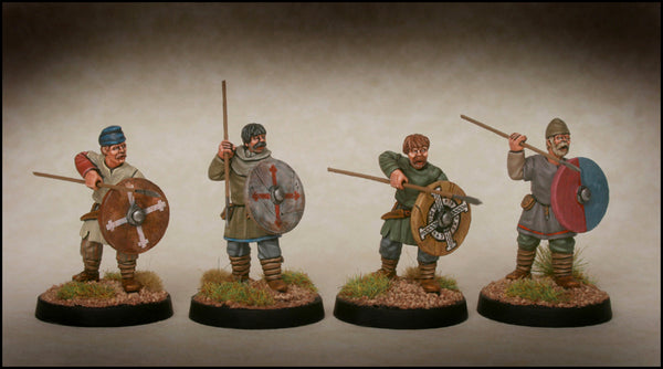 Late Saxon Fyrd Warriors 2