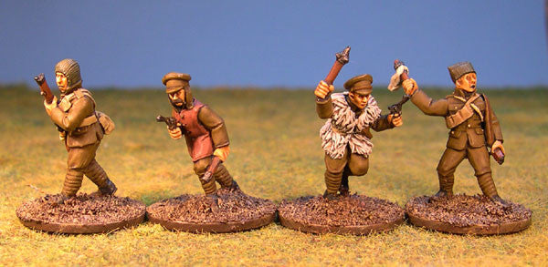 British Trench Raiders