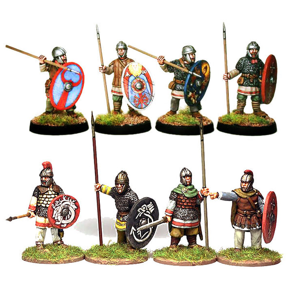 Romano-British Infantry & Command - 1 point