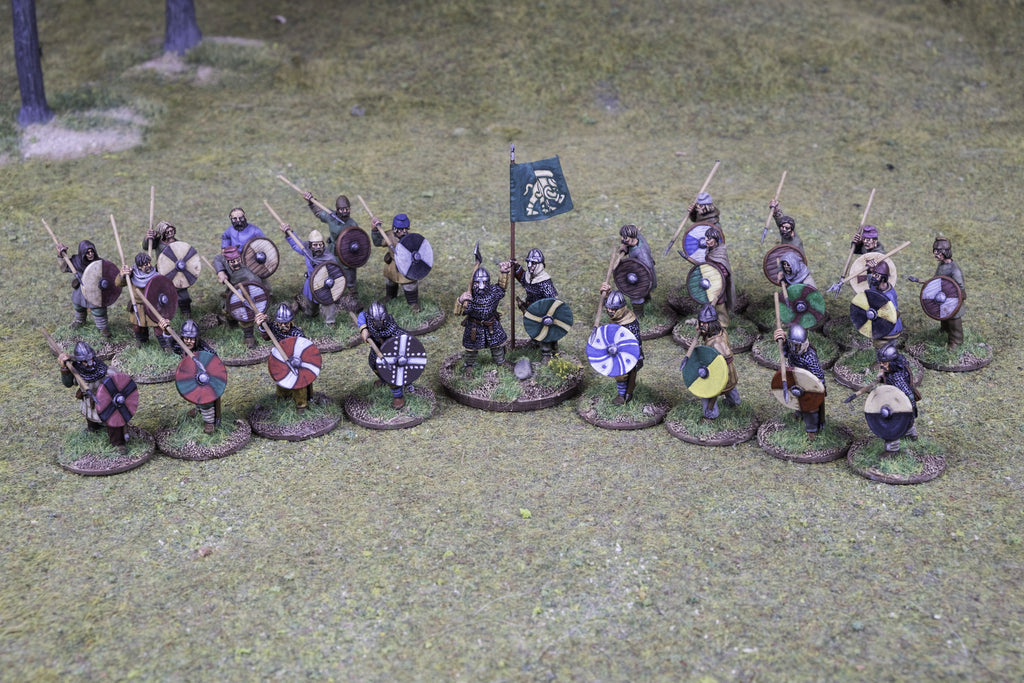 Anglo-Saxon Skirmish Warband for Saga