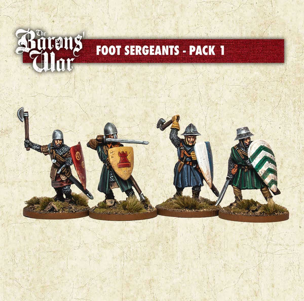 Foot Sergeants with Hand Weapons 1