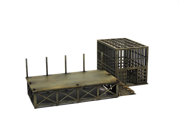 Slave Market Set - Platform and cage only