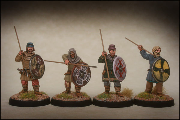 Late Saxon Fyrd Warriors