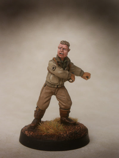 WW2 Furious US Tank Commander
