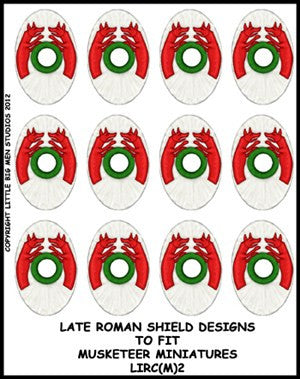 Late Roman Shield Transfer LIRC(FM)2