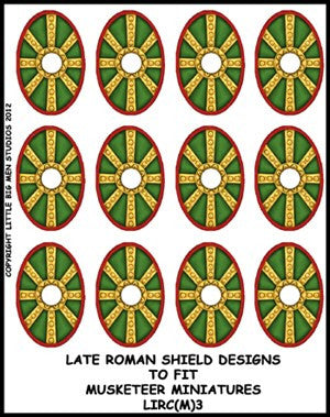 Late Roman Shield Transfer LIRC(FM)3