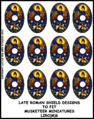 Late Roman Shield Transfer LIRC(FM)6