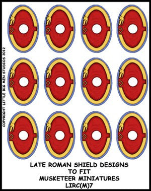 Late Roman Shield Transfer LIRC(FM)7