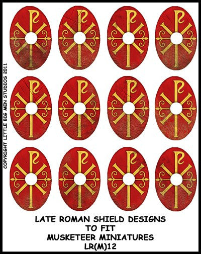 Late Roman Shield Transfer LR(FM)12