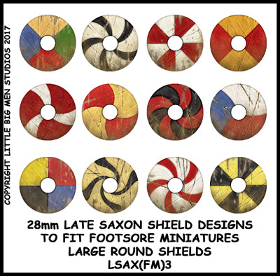 Late Saxon Shield transfers LSAX(FM)3