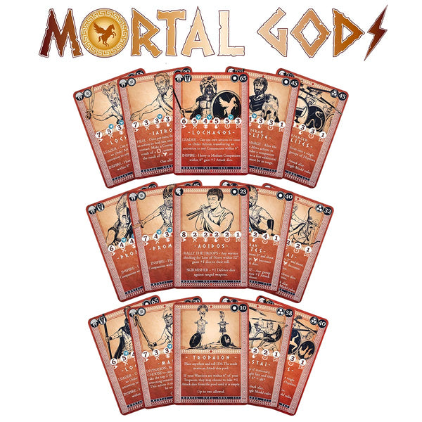 Ancient Greek Roster Card Set