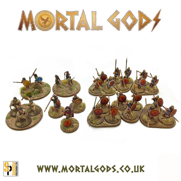 Mortal Gods Basing Set