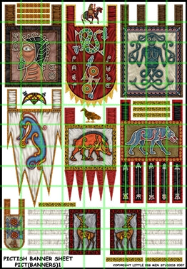 Pictish Banner Sheet 1