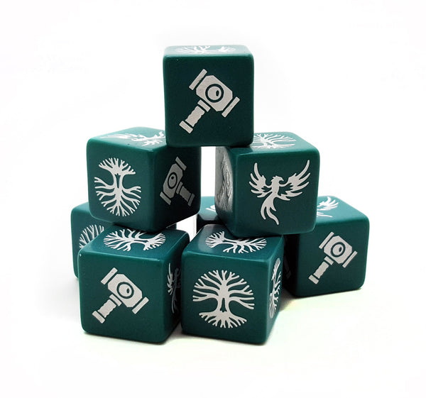 Forces of Order SAGA Dice