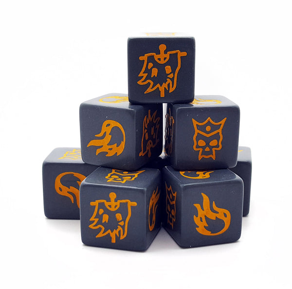 Forces of Chaos SAGA Dice