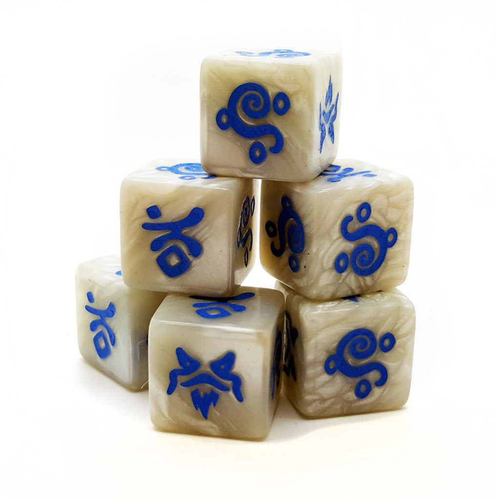 SAGA Magic System Dice