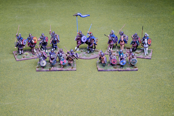 Visigoth 4 point Saga warband #2