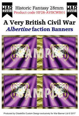 Albertine faction Banners