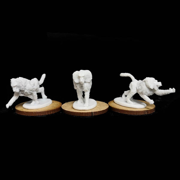Kushite Baboons Pack Resin