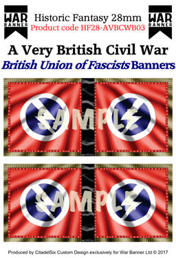 British Union of Fascists Banners