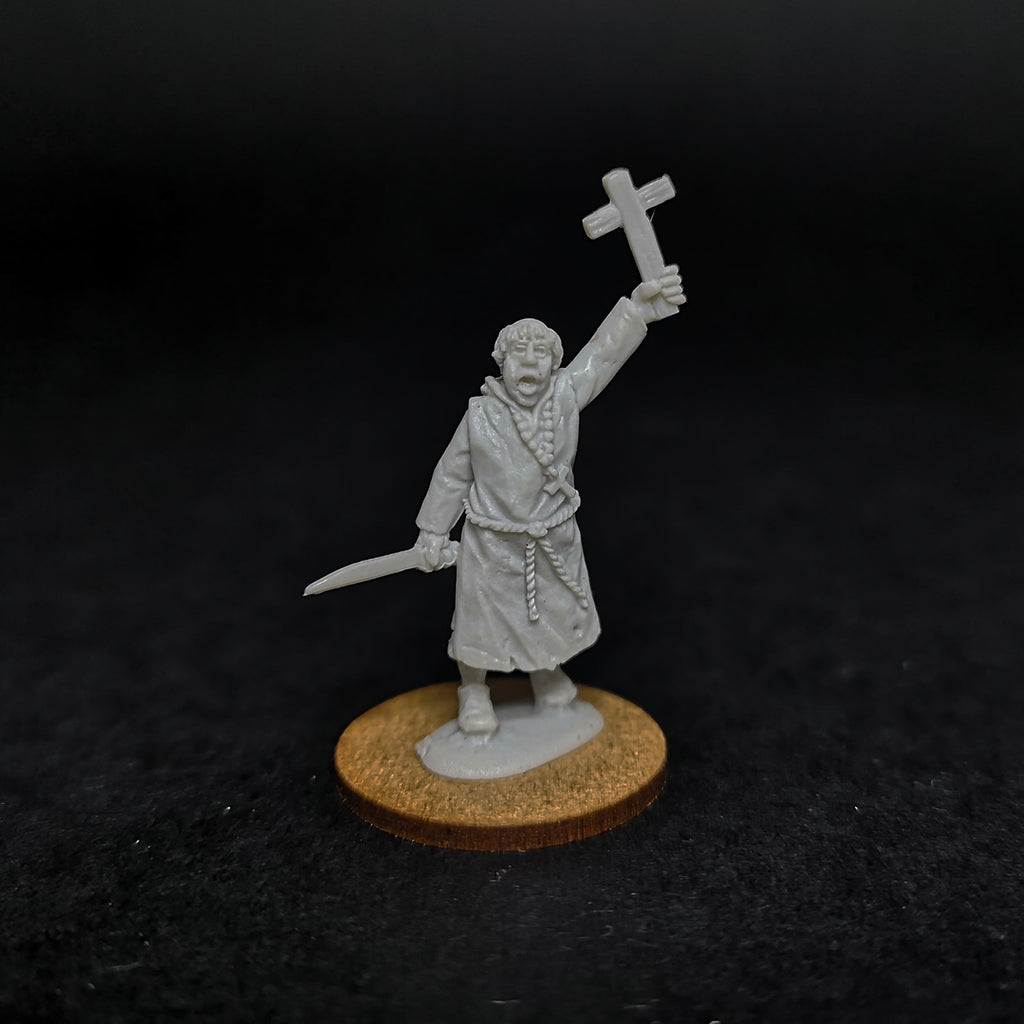 Early Saxon Christian Priest - Resin