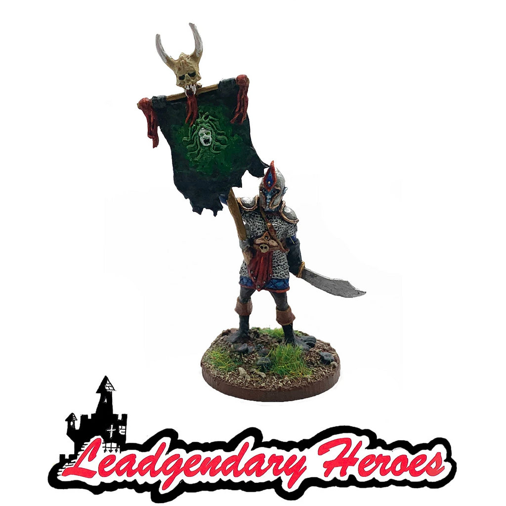 Mankor the Standard Bearer: Carrier of the Wailing Banner