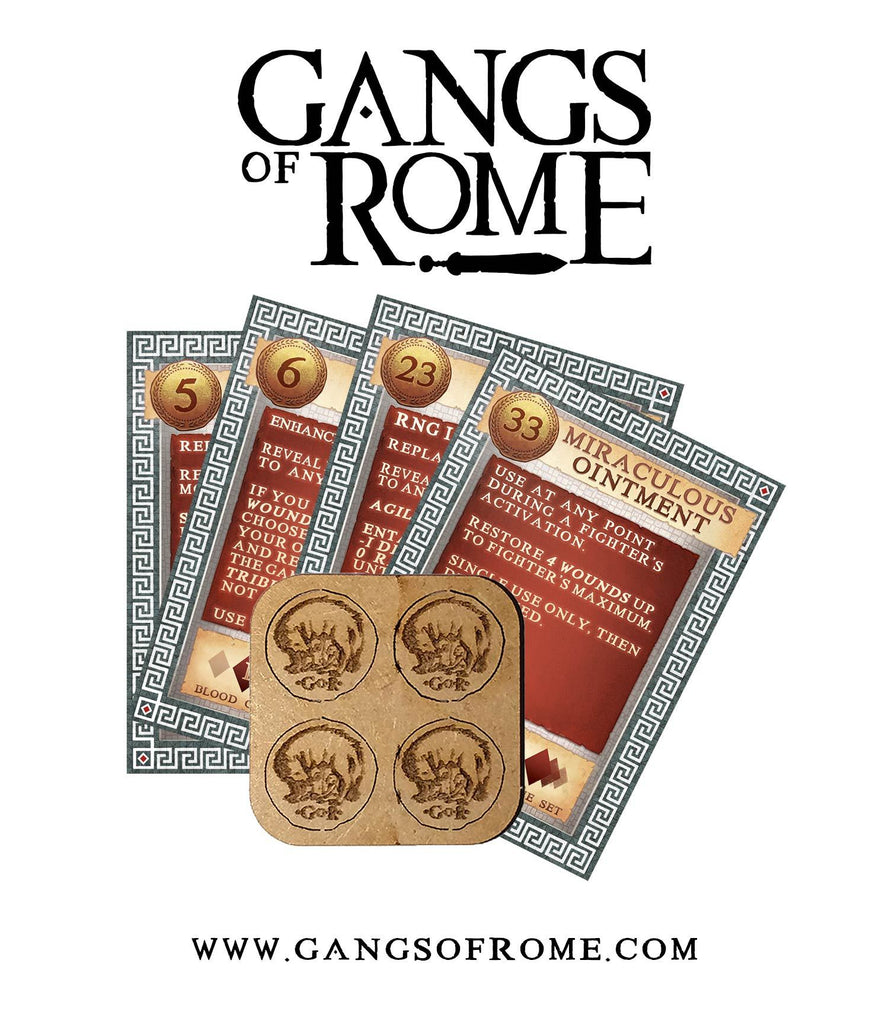 Coin Plate Three: Denarii 5, 6, 23 & 33