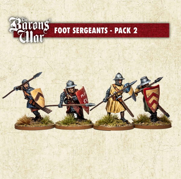 Foot Sergeants with Spears 1