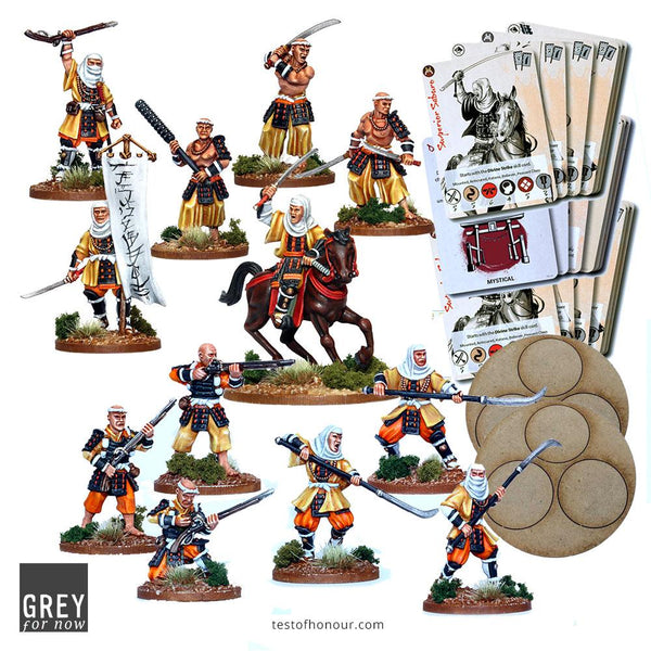 Sohei Warrior Monks Bundle