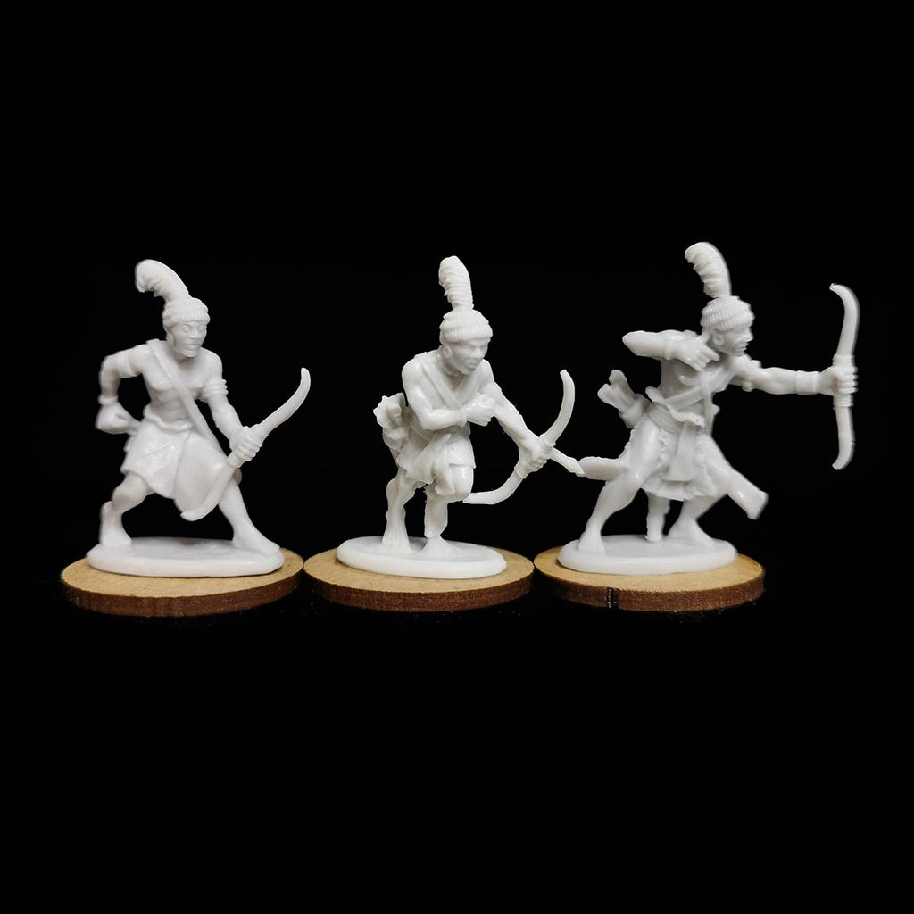 Kushite Archers Resin