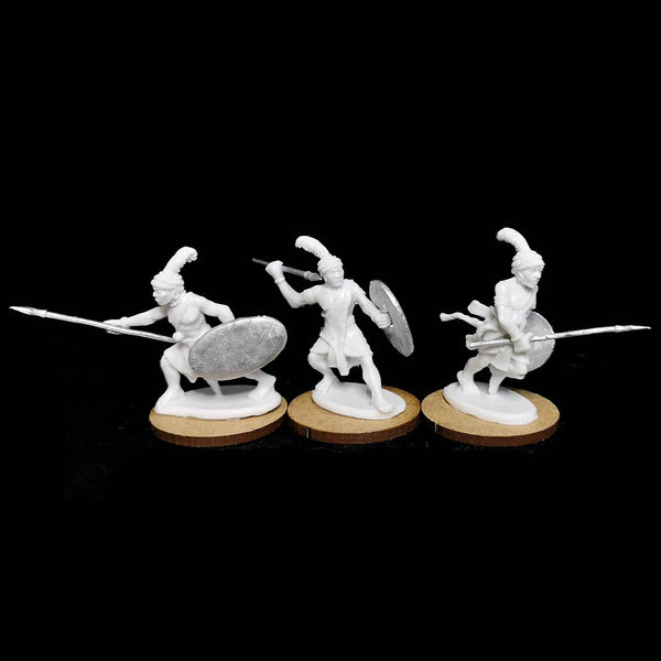 Kushite Spearmen Resin