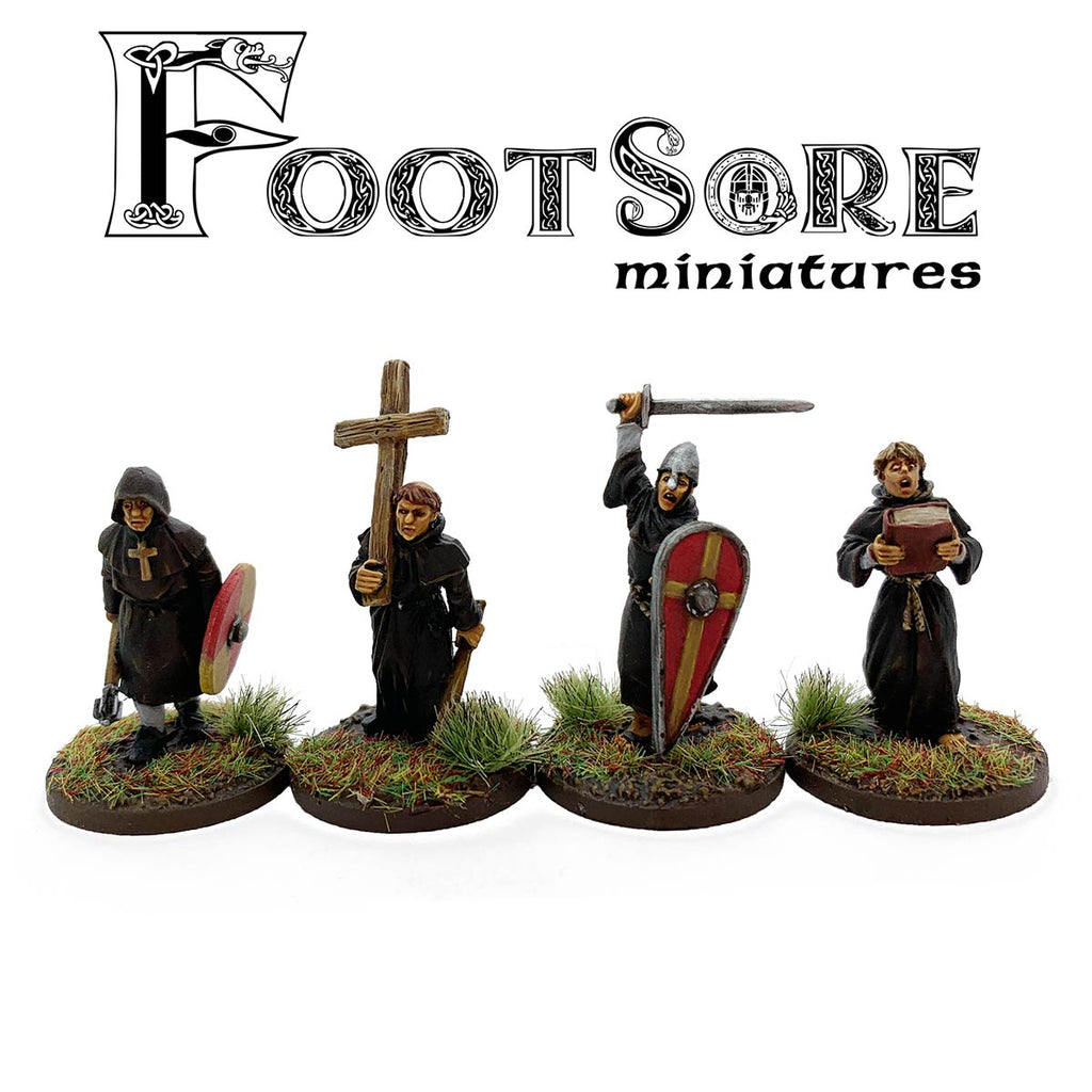 Milites Christi - Warrior Monks with Cross