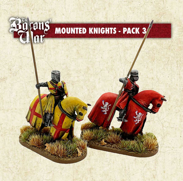Mounted Knights 3 (Resin)